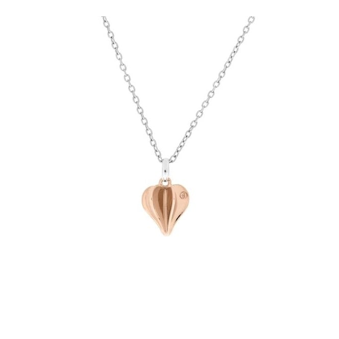 Gulldia 250097 Rose Gold Plated Silver Pendant