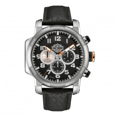 Harley Davidson 76B172 Men's Motorcycle Piston Wristwatch