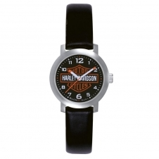 Harley Davidson 76L10 Ladies Bar & Shield Wristwatch