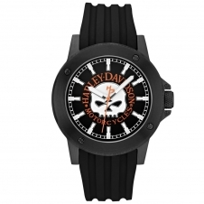 Harley Davidson 78A115 Men's Willie G. Skull Wristwatch