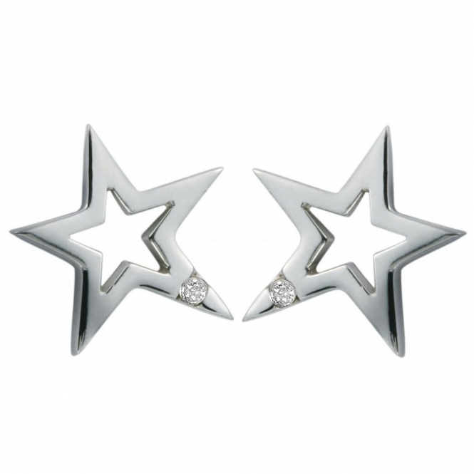 Hot Diamonds DE104 Distinctive Diamond Earrings