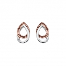 Hot Diamonds DE499 Chandelier Vintage Oval Stud Earrings