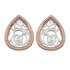 Hot Diamonds DE529 Faith Teardrop stud Earrings