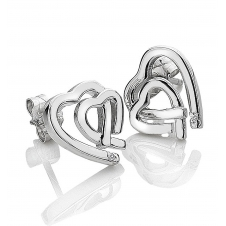 Hot Diamonds DE531 Amour Hearts Stud Earrings