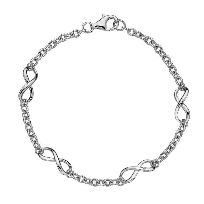 Hot Diamonds DL293 Infinity Silver Bracelet