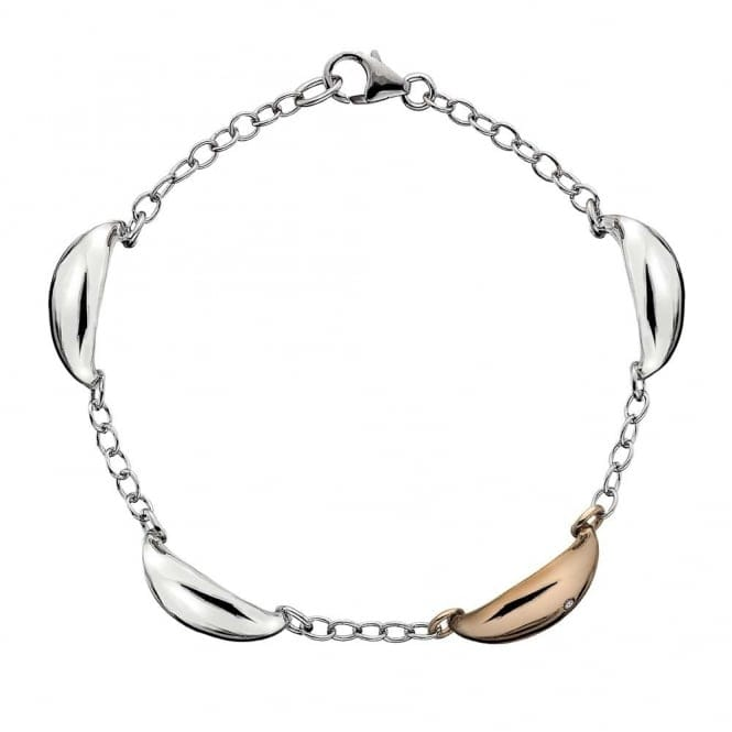 Hot Diamonds DL298 Mirage Two Tone Bracelet