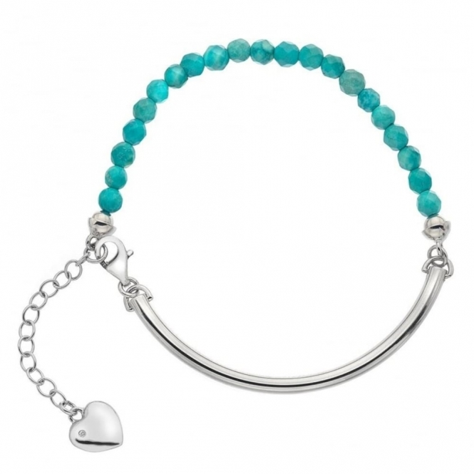 Hot Diamonds DL307 Women's Festival Turquoise Bracelet