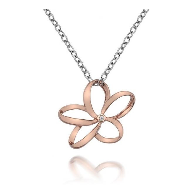 Hot Diamonds DP612 Paradise Open Petal Pendant