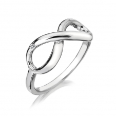 Hot Diamonds DR144-N Infinity Ring Size N