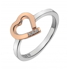 Hot Diamonds DR195-L Amore Ring Size L