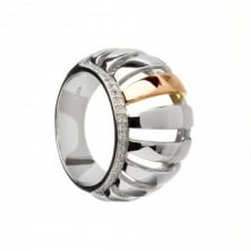 House Of Lor H-20003 Chunky Stone Set Ring Size Q