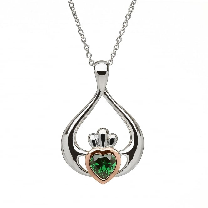 House Of Lor H-40040 Claddagh Pendant & Chain