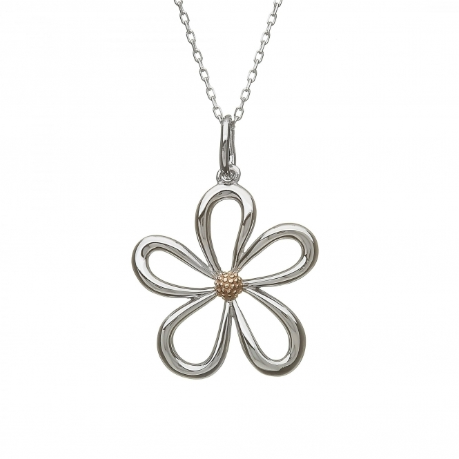 House Of Lor H-40063 Petal Themed Pendant & Chain