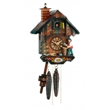 Hubert Herr 65-22-V-KA-HO Mechanical Cuckoo Clock