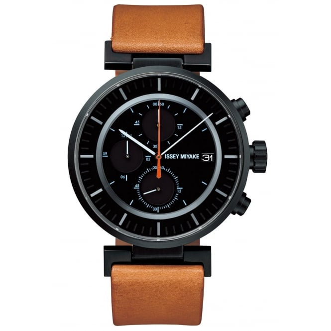 Issey Miyake SILAY006 W Chronograph Wristwatch