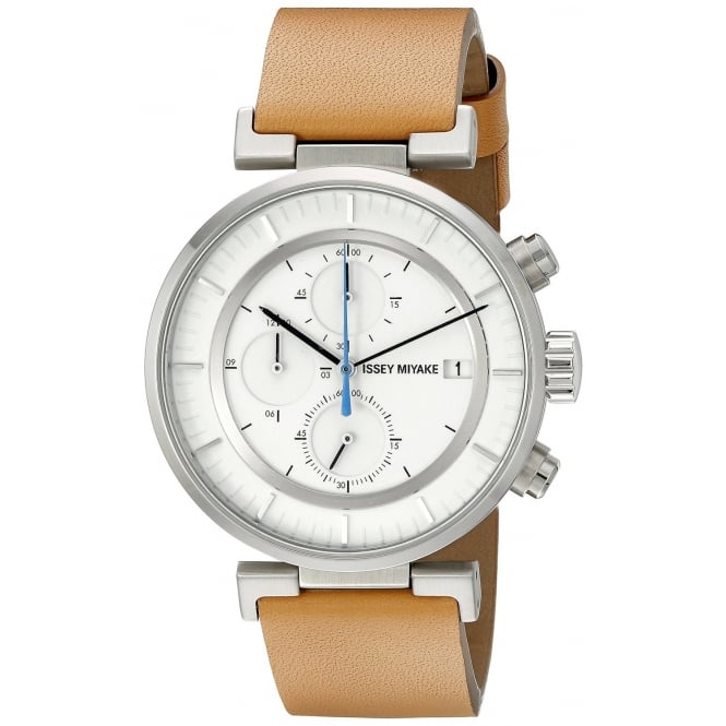 Issey Miyake SILAY008 W Chronograph Wristwatch