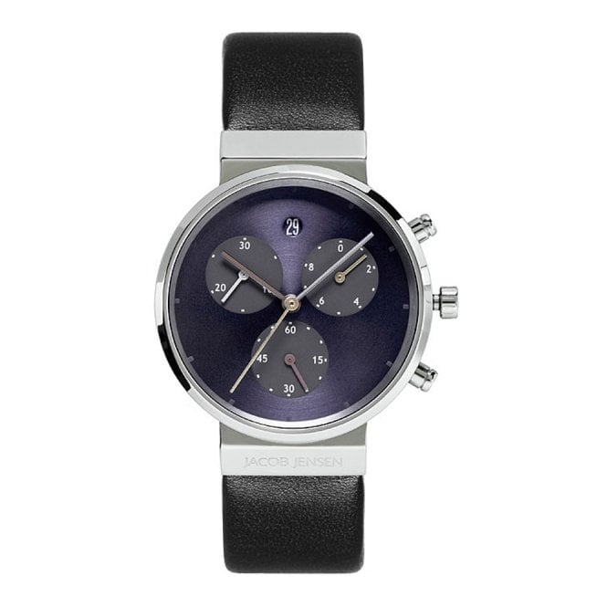 Jacob Jensen 615 Women's' Chronograph Titanium Wristwatch