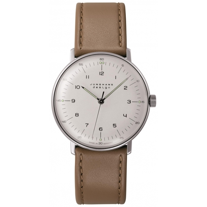 Junghans 027-3701.00 Max Bill Hand-Winding Wristwatch