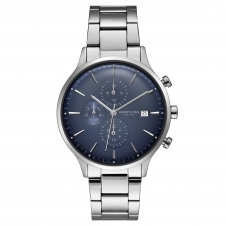 Kenneth Cole KC15181004 Men's Blue Dial Wristwatch