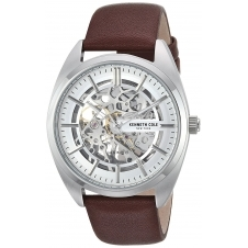 Kenneth Cole KC50064002 Men's Automatic Skeleton Wristwatch
