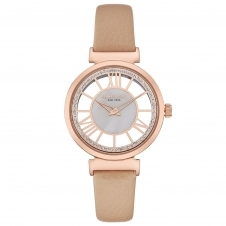 Kenneth Cole KC50189003 Women's Rose Gold Tone Transparent Wristwatch
