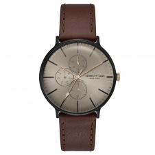 Kenneth Cole KC15189002 Men's Brown Dial Wristwatch