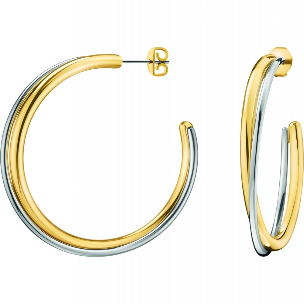 Calvin Klein KJ8XJE200100 Double Hoop Earrings