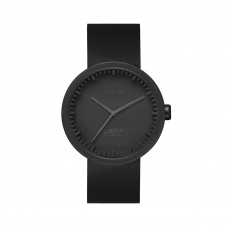 Leff Amsterdam LT71011 Men's D38 Black Tube Wristwatch