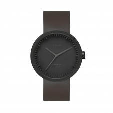 Leff Amsterdam LT71012 D38 Black Tube Wristwatch