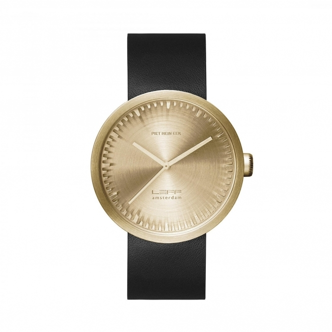 Leff Amsterdam LT71021 D38 Brass Tube Wristwatch