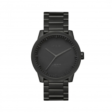 Leff Amsterdam LT71102 Men's S38 Black Tube Wristwatch