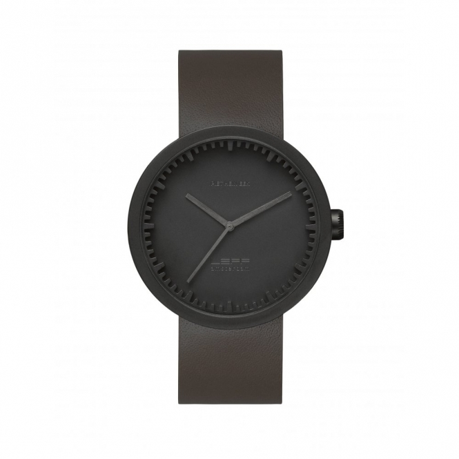 Leff Amsterdam LT72012 D42 Black Tube Wristwatch