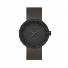 Leff Amsterdam LT72012 Men's D42 Black Tube Wristwatch