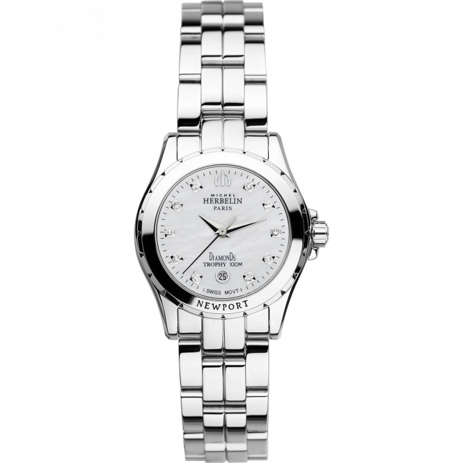 Michel Herbelin 12870-B89 Women's Newport Trophy Wristwatch