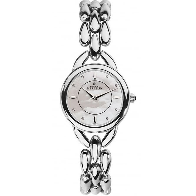 Michel Herbelin 17475/B19 Women's Waterfall Wristwatch