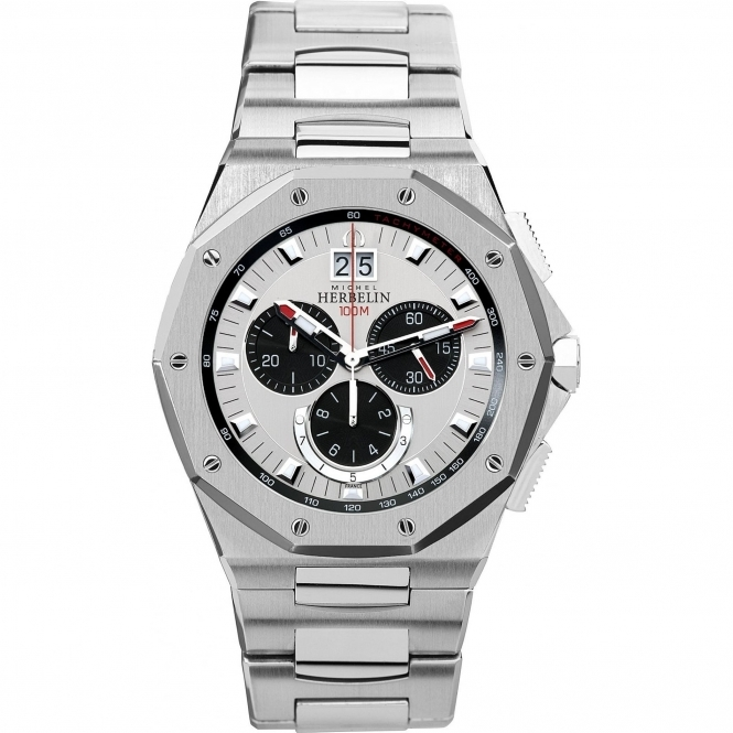 Michel Herbelin 36631-B23 Men's Odyssee Chronograph Wristwatch