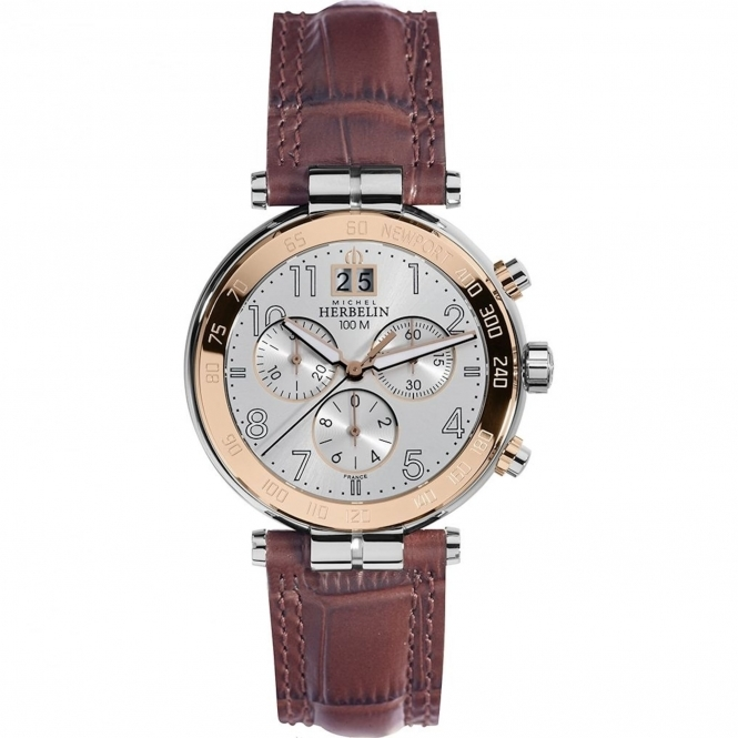 Michel Herbelin 36654-TR11MA Men's Newport Chronograph Wristwatch
