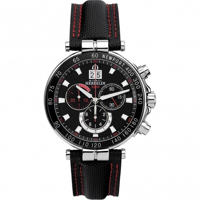 Michel Herbelin 36655-AN44 Men's Chronograph Wristwatch