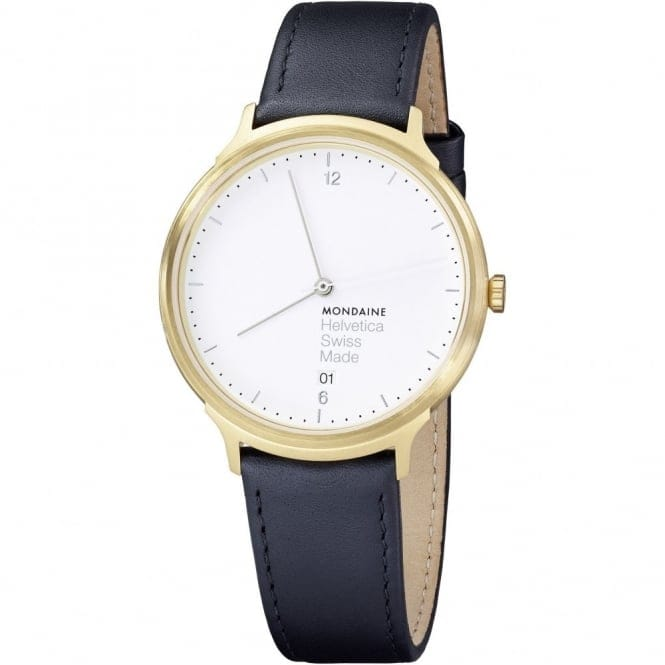 Mondaine MH1.L2211.LB Helvetica No1 Light Wristwatch