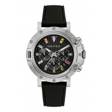 Nautica NAD17527G NST 800 Flags Chronograph Wristwatch