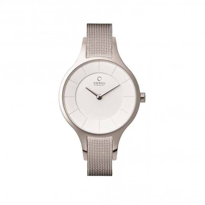 Obaku Dis Steel Women's Wristwatch V165LXCIMC