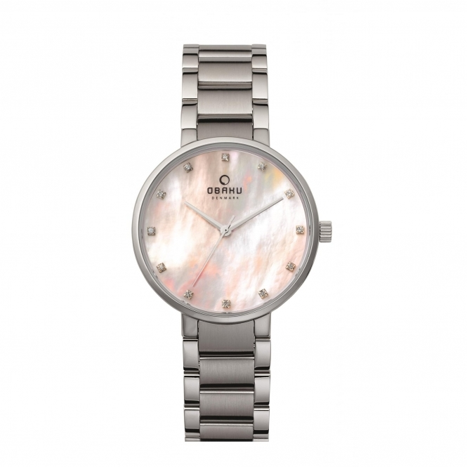 Obaku Glad Coral Women's Wristwatch V189LXCPSC
