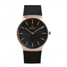 Obaku Rolig Night Men's Wristwatch V178GXVBMB