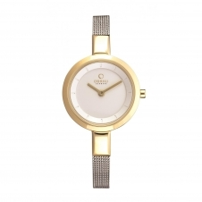 Obaku Siv Gold-Bi Women's Wristwatch V129LXGIMC
