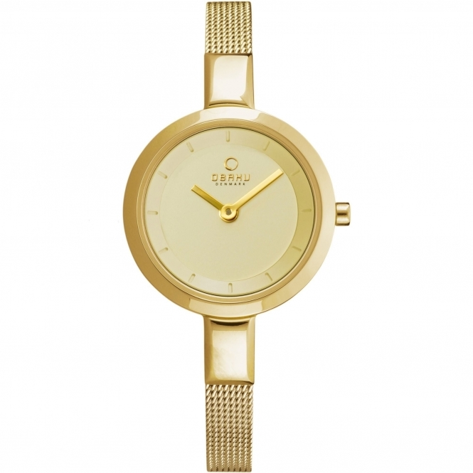 Obaku Siv Gold Women's Wristwatch V129LXGGMG