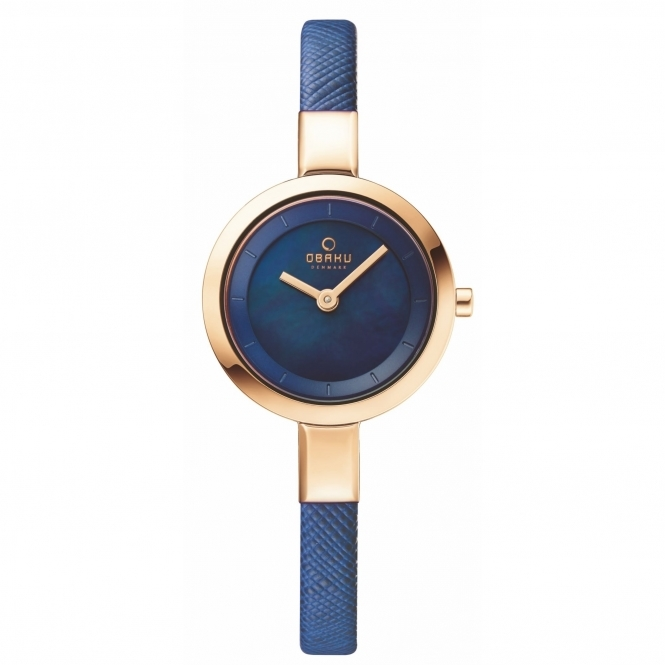Obaku Siv Navy Women's Wristwatch V129LXVLRA