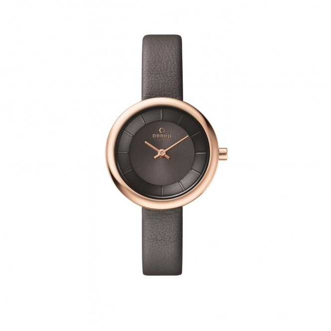 Obaku Stille Pebble Women's Wristwatch V146LXVJRJ