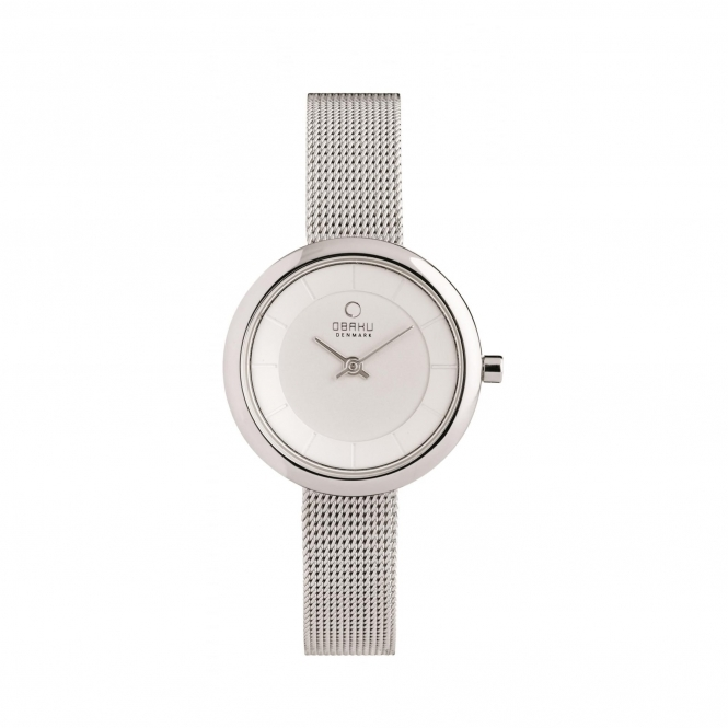 Obaku Stille Steel Women's Wristwatch V146LXCIMC