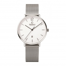 Obaku Toft Steel Men's Wristwatch V181GDCWMC
