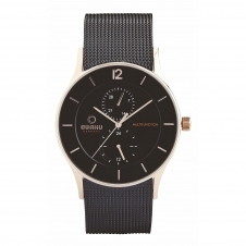 Obaku Torden Night Men's Wristwatch V157GMVBMB